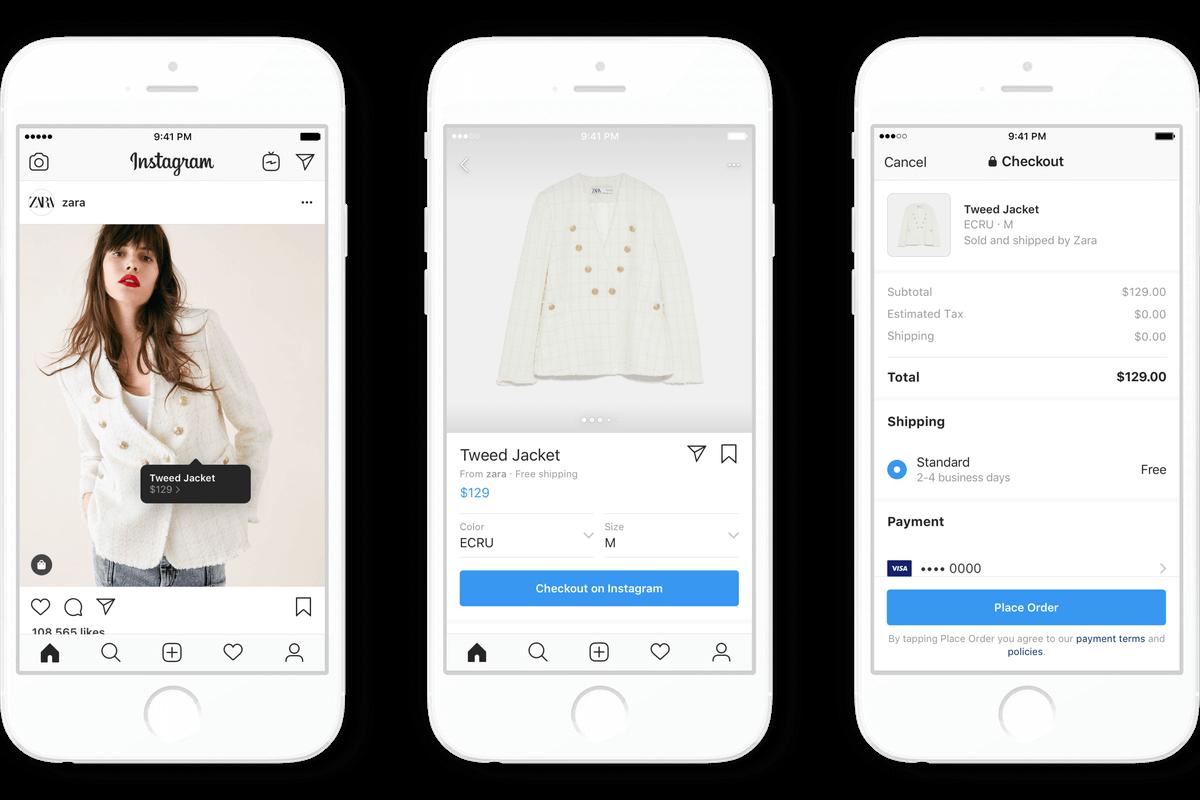 Loja virtual integrada com instagram
